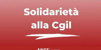 SOLIDARIETA' ALLA CGIL - ANCE CASERTA
